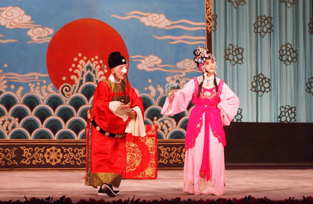 WWW_30CHUN_COM_peking opera costume 《chun cao makes her way into the court》